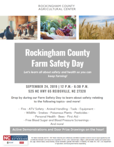 Cover photo for Farm Safety Day - September 24