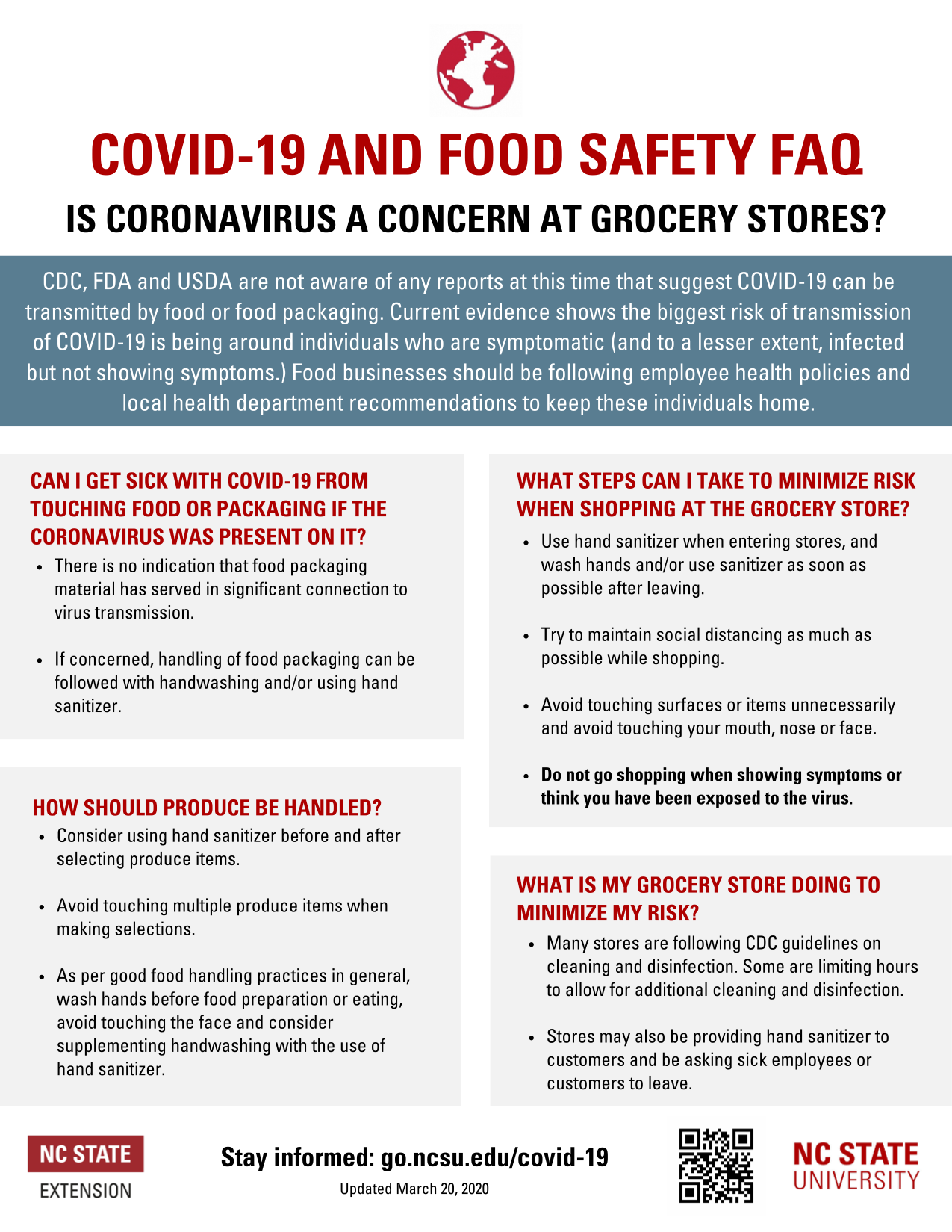 COVID-19 Food Safety PDF