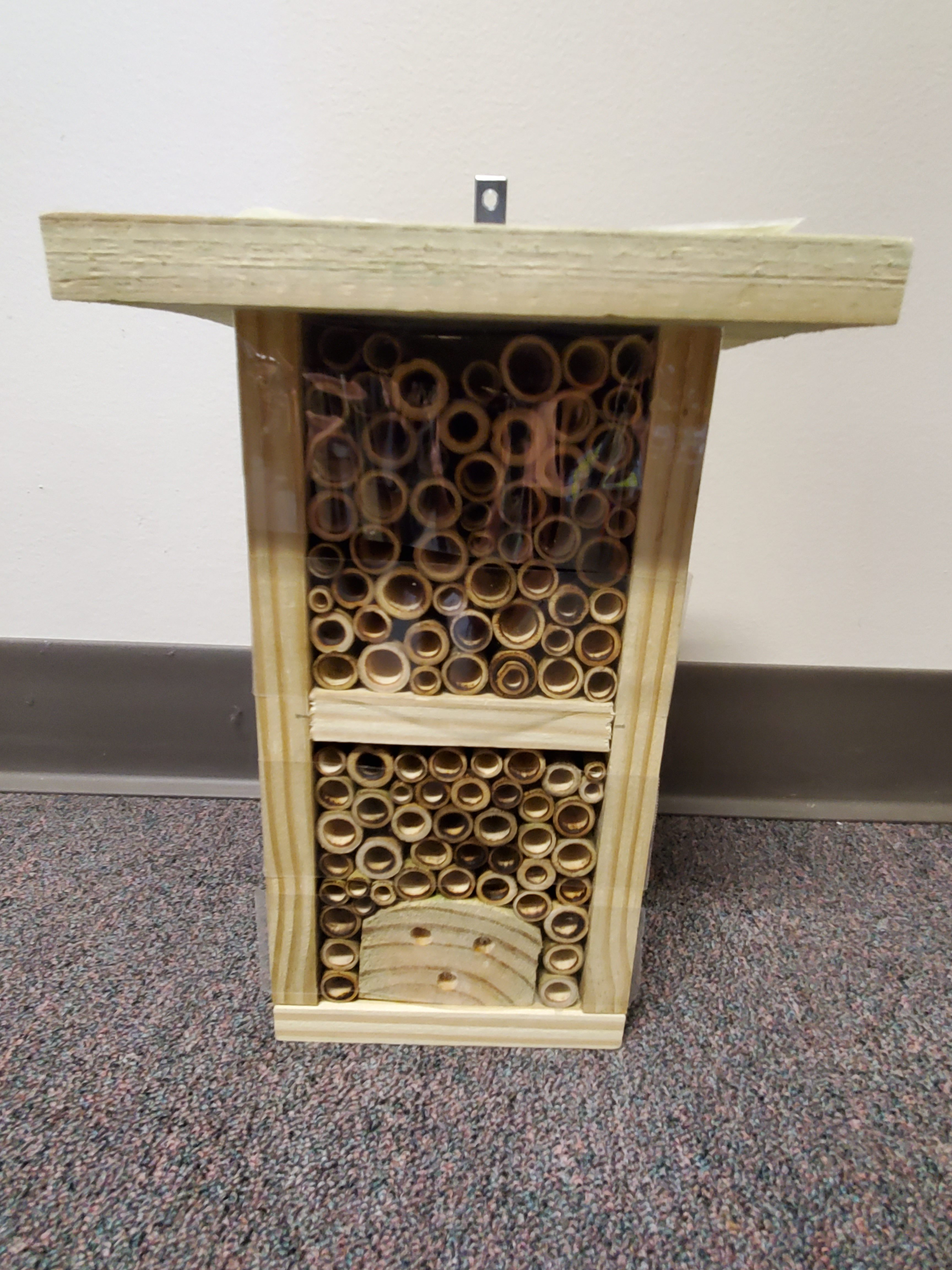Native Bee Shelter