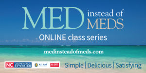 Online Med Instead of Meds infographic